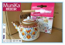 Munika cookware Turkish Tea Pot Set, Popular Turkish Cast Iron Tea Kettle Metal Teapot cooker kettle, ARABIC ISLAMIC TURKISH TEA
