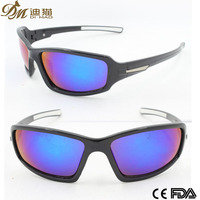 Black cheap injection sports sunglasses bicycle goggle