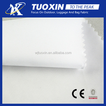microfiber polyester pongee fabric / pongee lining fabric / white pongee fabric
