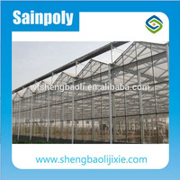 The Cheapest Hot Sale Sainpoly Gutter Connected Greenhouse