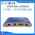 epon onu 2fe+1pots ftth مع منفذ إيثرنت الألياف البصرية المودم