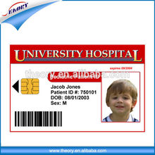 Glossy finish Printing PVC 125khz Rfid Card For Student ID And Employee ID card