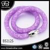 Stainless Steel Jewelry Set, Wrap Bracelet