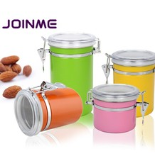 304 Stainless steel canister/tea coffee sugar canister set