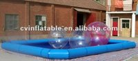 inflatable portable custom-made square swimming pool