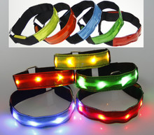 ABS PS Acrylic reflective led arm band