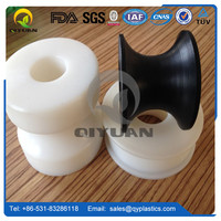Machined uhmwpe part/ special shaped plastic parts/ anti-static strip