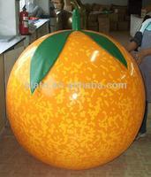 inflatable orange,custom inflatable fruit model