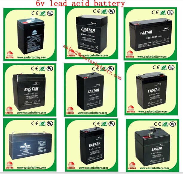 6v 4ah rechargeable batteries,6v 4ah lead battery