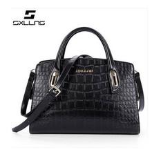 Wholesale Factory Shoulder lady handbag genuine leather hand bag women