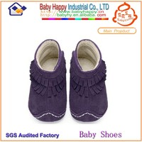 New fashion moccasins hot sales italian shoe brands baby girl boots