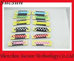 Wholesale top and bottom glass cover for iphone dot pattern glass