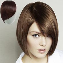 human hair Front Bang Hair Bang Extension With Clip in Hair Fringe