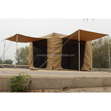 Camping equipment car tent automatic electric awning tent