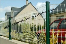 V type flat wire mesh fence