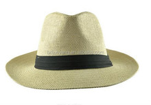 Hot sale 2015 promotional straw hat 2015 beautiful girl paper straw hat with bowknot