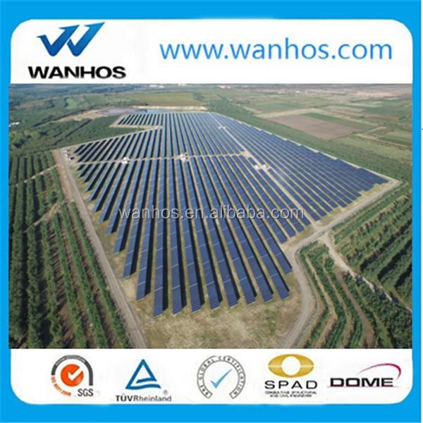 50 kw ground screw solar mounting