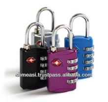 TSA 4 Dial Combination Luggage Pad Lock TSA309