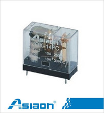Asiaon mini PCB relay jqx-14fc 1Z 12 volt relay