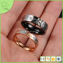 Stainless Steel Jewelry, Wedding Ring Set for Couple, Real Love Couple Wedding Ring