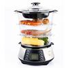 800W Digital 3-tier Food Steamer
