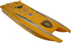"40"" 1/14 Huge Scale Admiral Electric RC Speed Boat YELLOW"