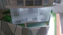 India style high rise 1/80 scale architectural residence model