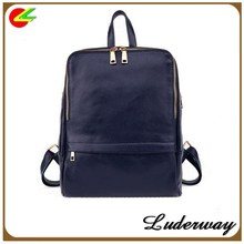 New 2015 Korea fashion shoulder bag College of wind Leather bag women Backpack school bag students backpacks for girls