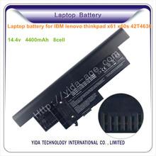 External battery for laptop IBM lenovo thinkpad x61 x60s X60 X61s 42T4630