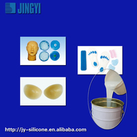 low hardness liquid silicone rubber for mask making