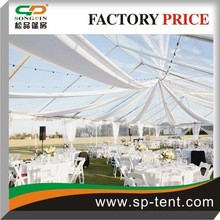 20x30m transparent marquee party wedding tent with luxury lining
