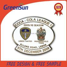 Custom Made Metal Pin Badge