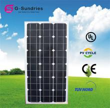 Low price 70w solar panel guangzhou