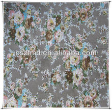 cheap and quality flower printed cotton fabric for shoes/bag/dress/garment