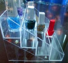 Perfume and cosmetics shop decoration acrylic cosmetic display showcase
