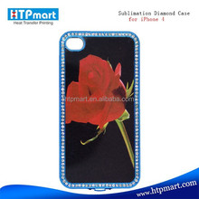 2015 china supplier sublimation bling jeweled cell phone cases