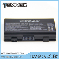 Hot sell 6 Cells Laptop Battery Pack 11.1V 5200mAh for ASUS