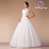 HM96871 2015 Cheap One-Shoulder Sweetheart Neckline Beaded Bodice Alibaba Real Pictures Wedding Dress China