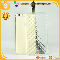 China manufacturer transparent TPU channel phone case for iphone 6
