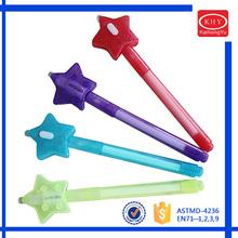 Star Shape Cap Best Selling UV Ball Pen