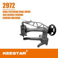 Keestar 2972 heavy duty cylinder bed shoe repair sewing machine