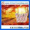 Custom Design Silicone Handbags/Silicone waterproof beach bag/Silicone Cosmetic Bag