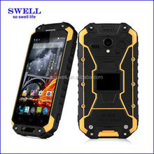 2015 exclusive NFC design x8 rugged phone optional RFID 13MP Walkie Talkie NFC alps x8 ip68