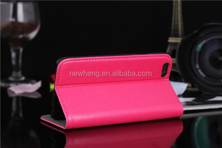 New High Quality Retro book style Leather Case for iPhone 6