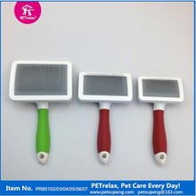 Eco-friendly Plastic Pet Slicker Brush New Dog Products 2015