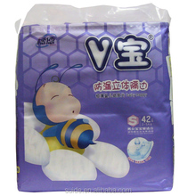 Super dry and comfortable baby diaper