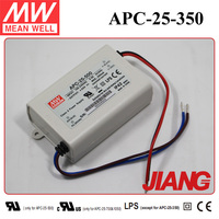 25W 350mA LED Power Supply APC-25-350 Meanwell LED Driver Constant Current IP30 Design
