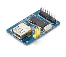 Promotion !!! Ch375b USB Flash Drive Read Write Module for DIY Robot Electronics PCB Development Board