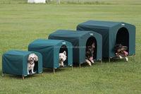 Indoor &outdoor waterproof portable plastic dog kennel/dog house/pet house