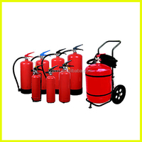 Portable ABC dry powder fire extinguisher with ISO